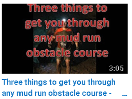 get through any mud run obstacle course