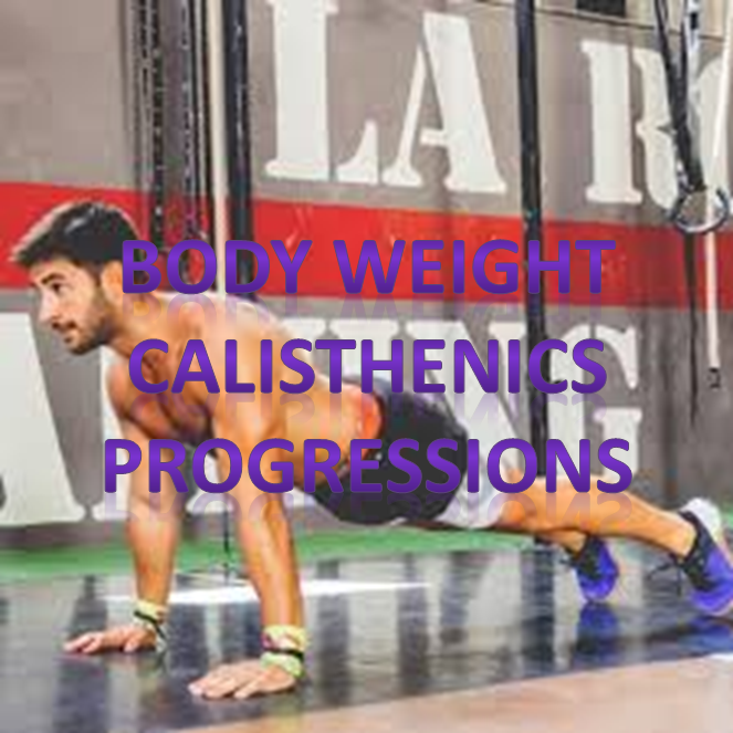 calisthenics body weight progressions
