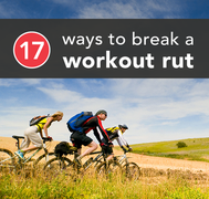 break out of workout rut