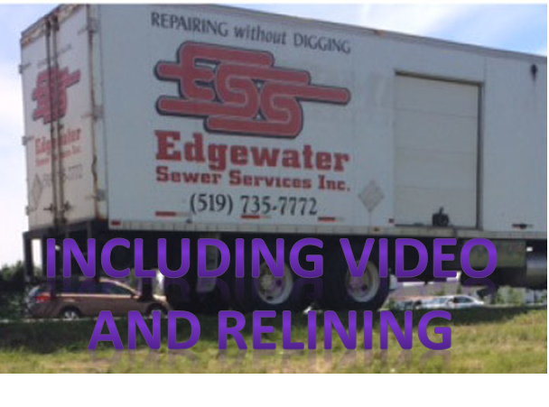 edgewater sewer plumbing snake video inspection