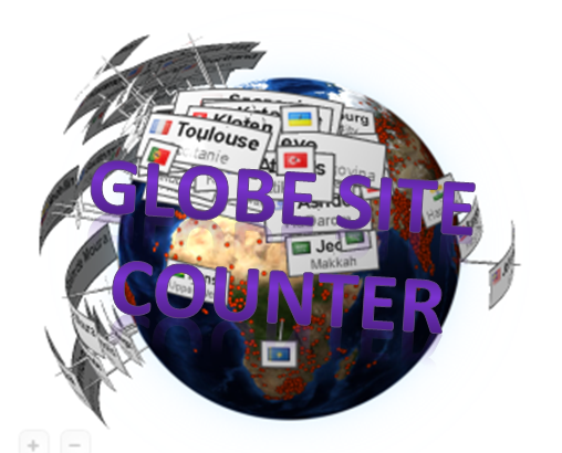globe website counter html free