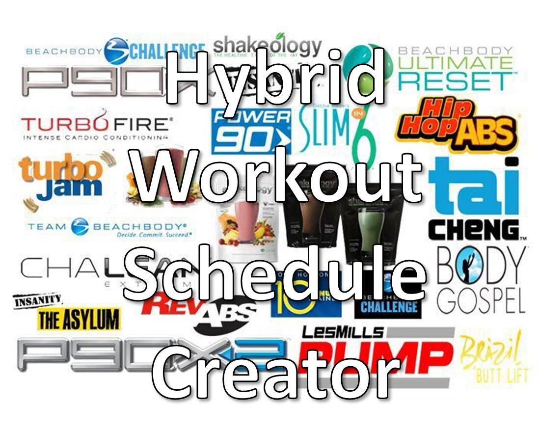 hybrid workout creator