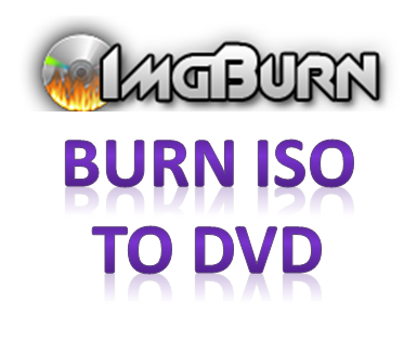 img burn iso to dvd
