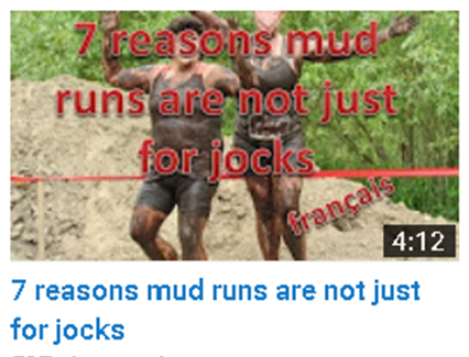mud runs are not just for jocks