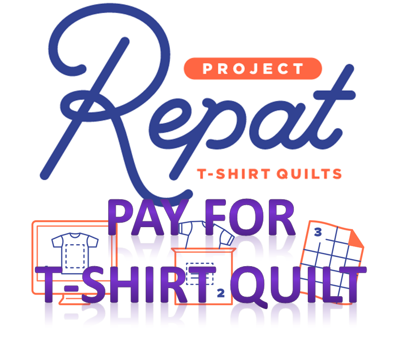 repat project paid tshirt quilt