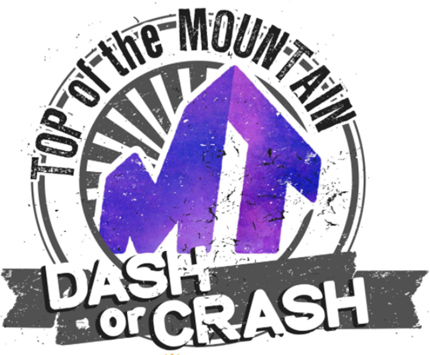top of the mountain dash or crash